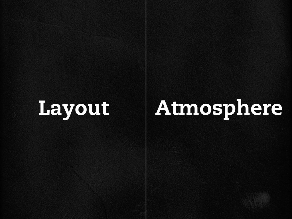 Atmosphere Layout
