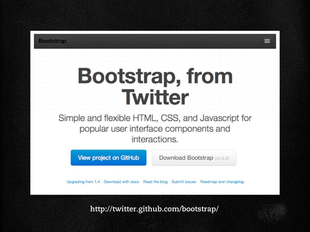 http://twitter.github.com/bootstrap/