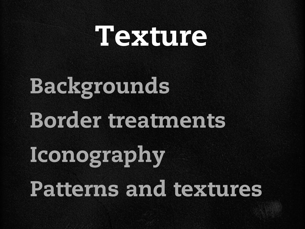 Texture Backgrounds Border treatments Iconograp...