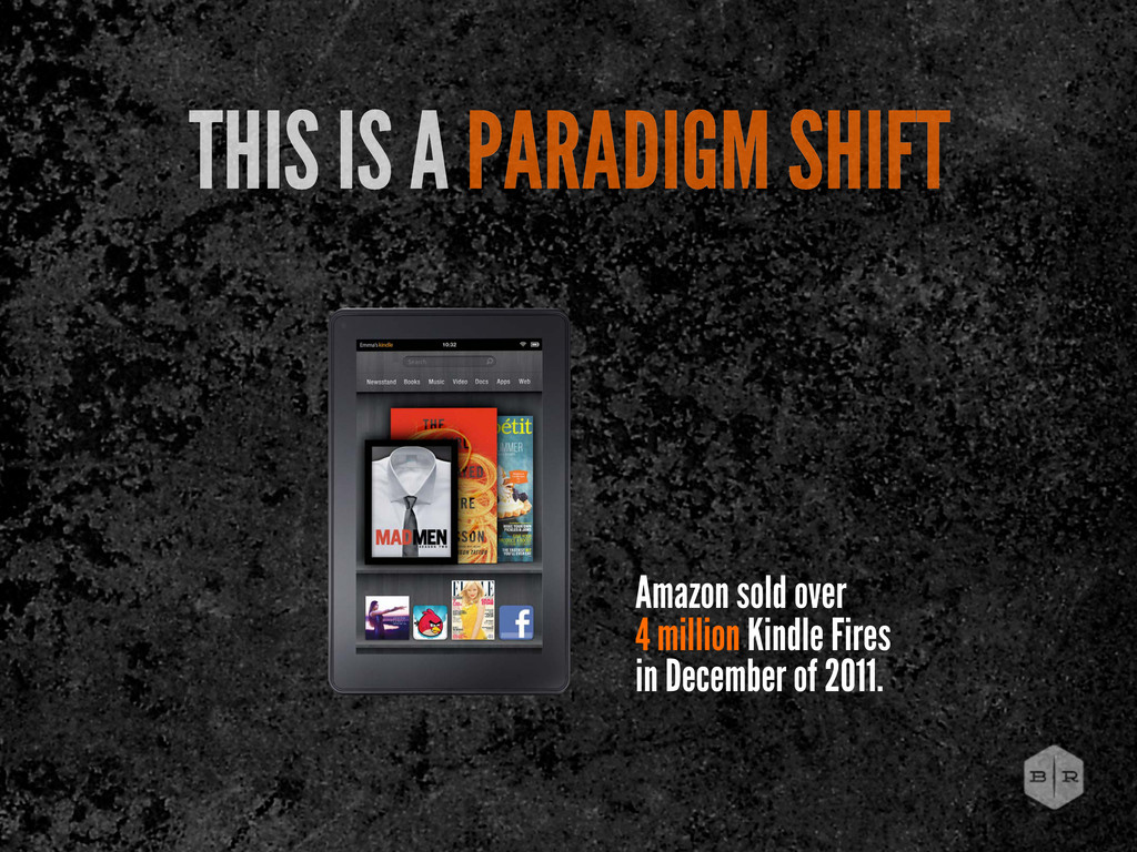 Amazon sold over 4 million Kindle Fires in Dece...