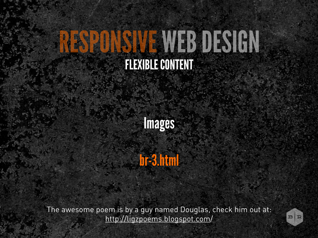 RESPONSIVE WEB DESIGN FLEXIBLE CONTENT Images b...