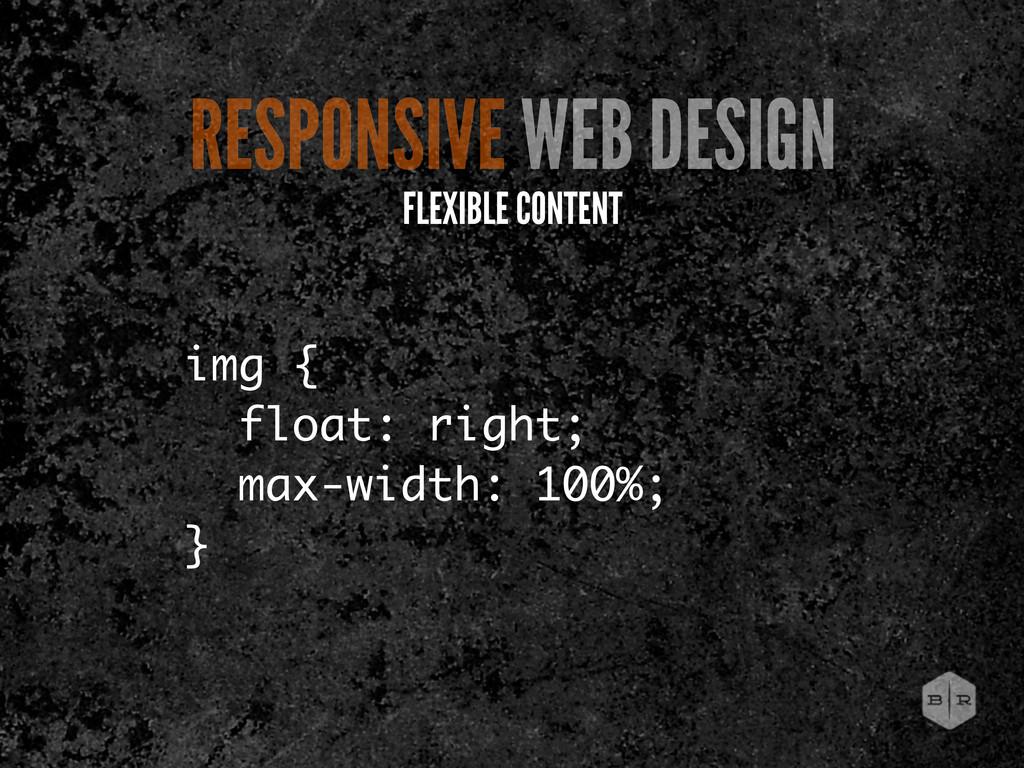 img { float: right; max-width: 100%; } RESPONSI...