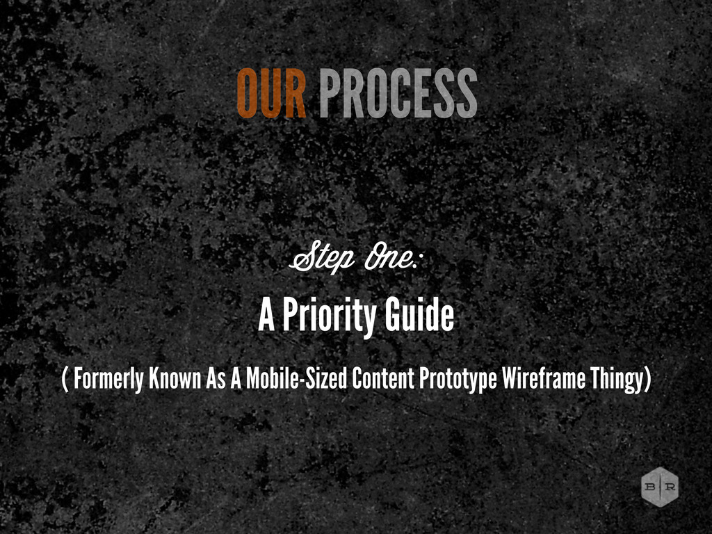 A Priority Guide ( Formerly Known As A Mobile-S...