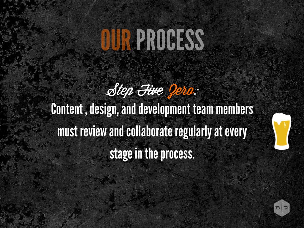 Content , design, and development team members ...