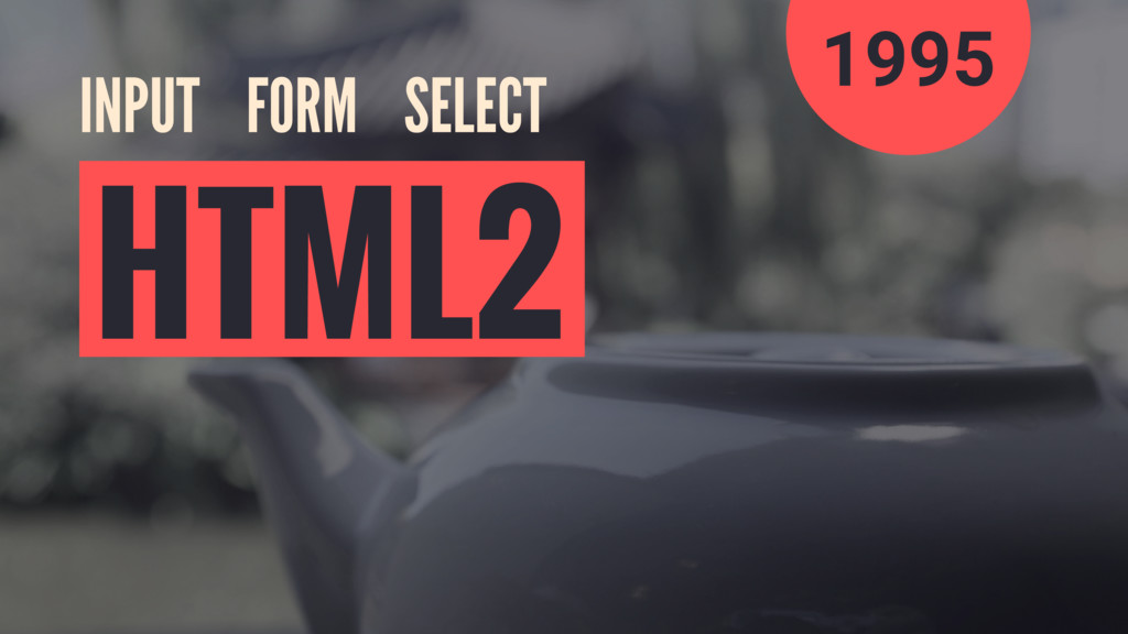 INPUT FORM SELECT HTML2 1995