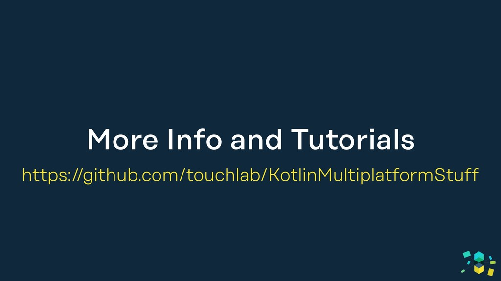 More Info and Tutorials https://github.com/touc...