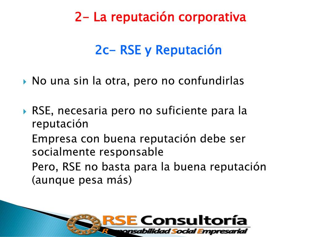 2- La reputación corporativa 2c- RSE y Reputaci...