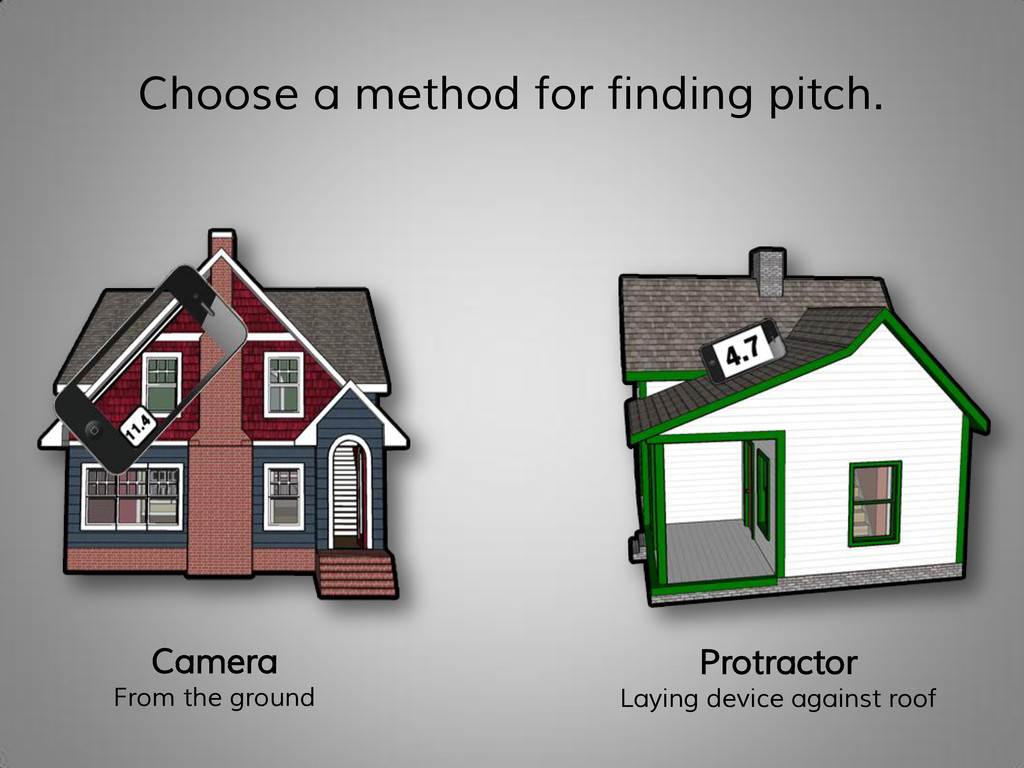 Choose a method for finding pitch. Camera From ...