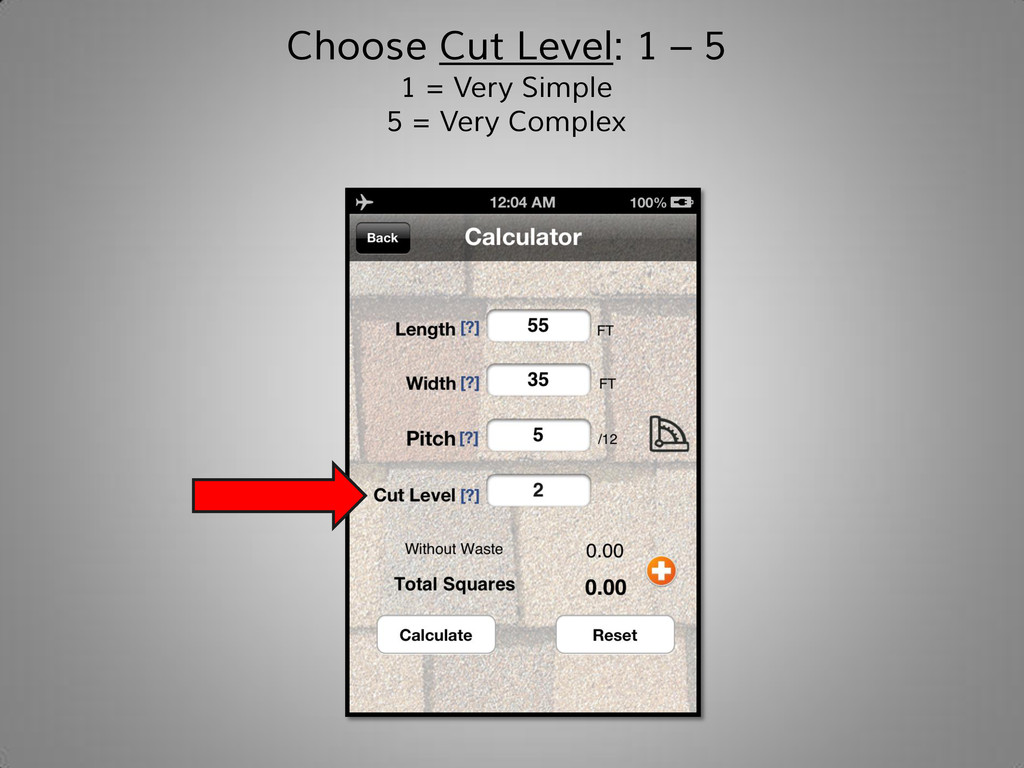 Choose Cut Level: 1 – 5 1 = Very Simple 5 = Ver...