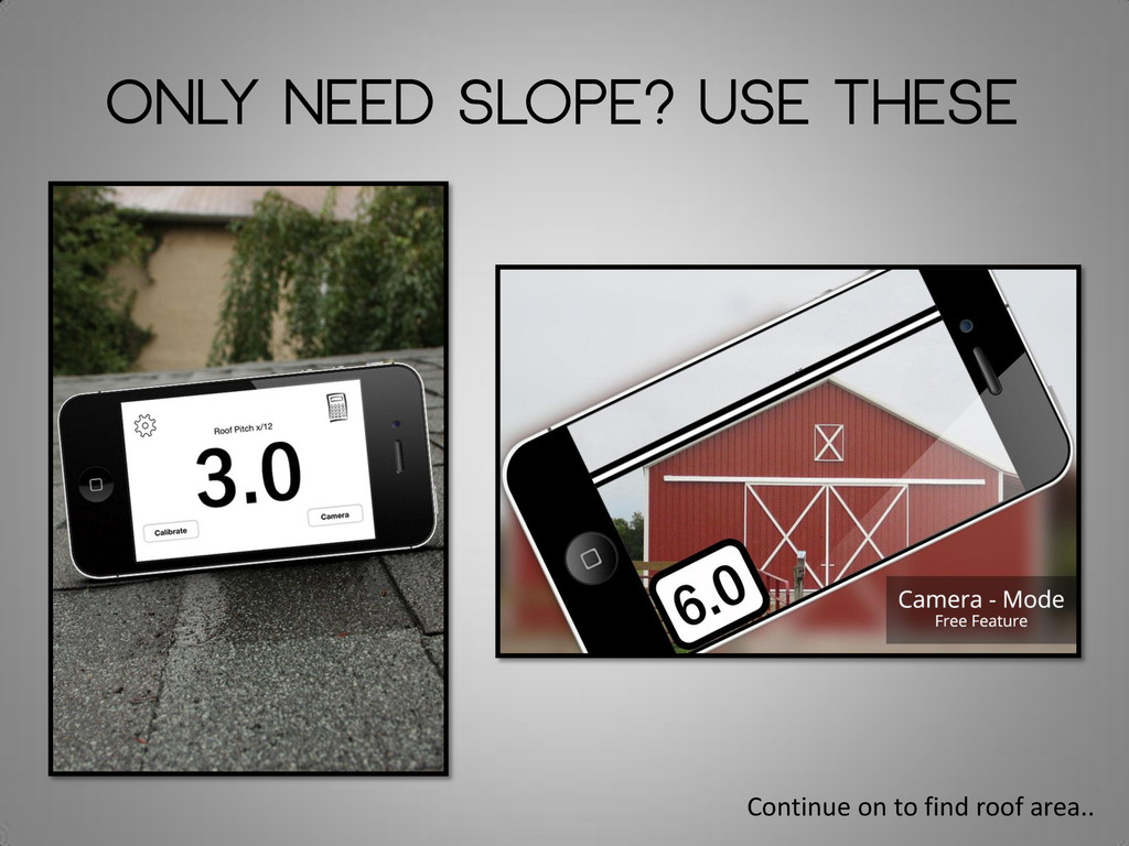 Only need slope? Use These Continue on to find ...