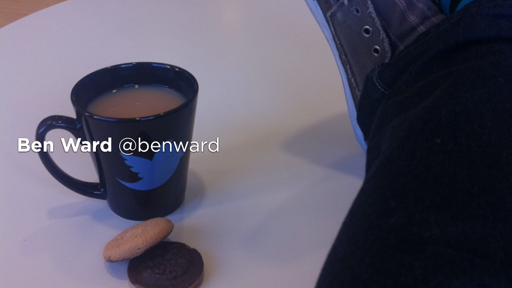 Ben Ward @benward