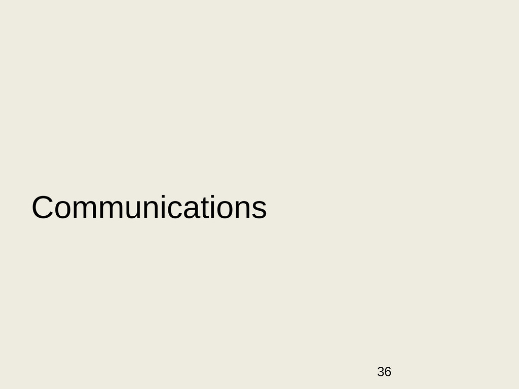 36 Communications