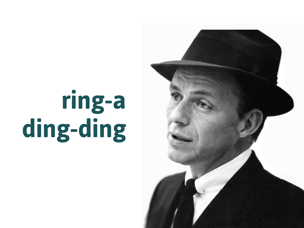 ring-a ding-ding