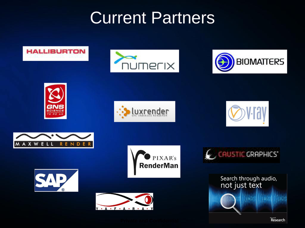 Current Partners 7 Private and Confidential