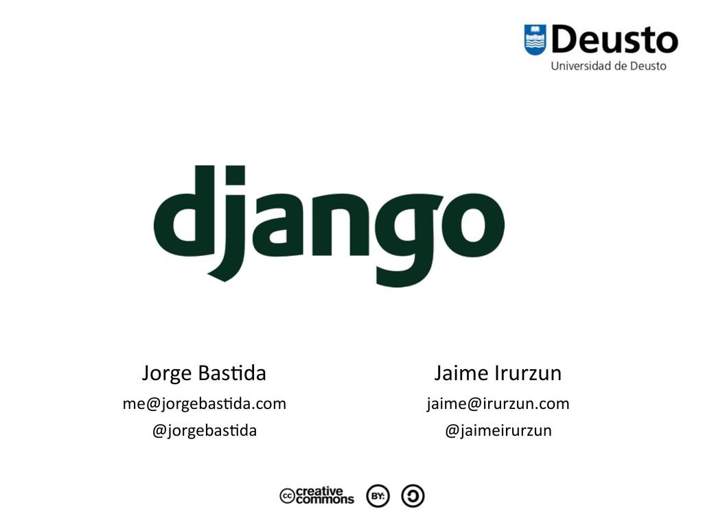 Jorge Bas*da me@jorgebas*da.com @jorgebas*da...