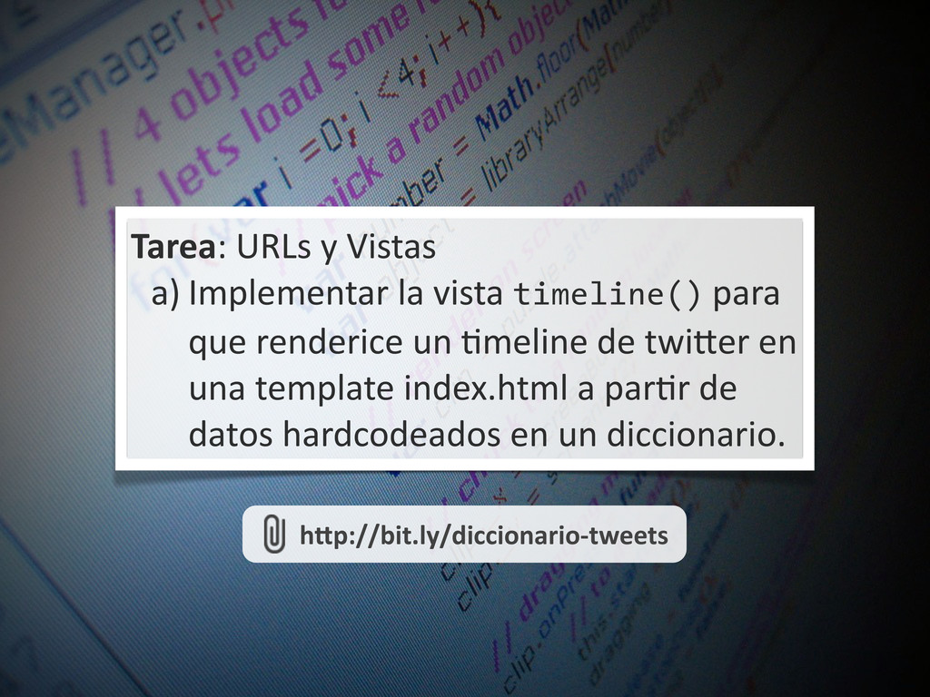 Tarea:	