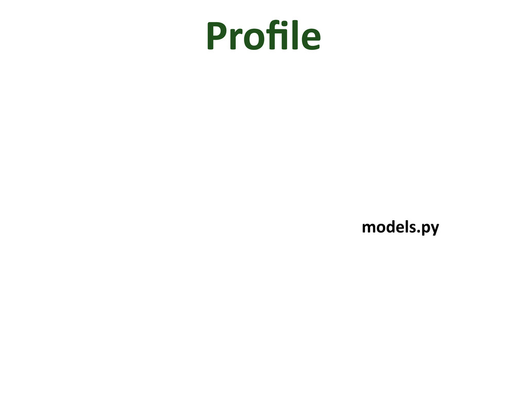 Profile models.py