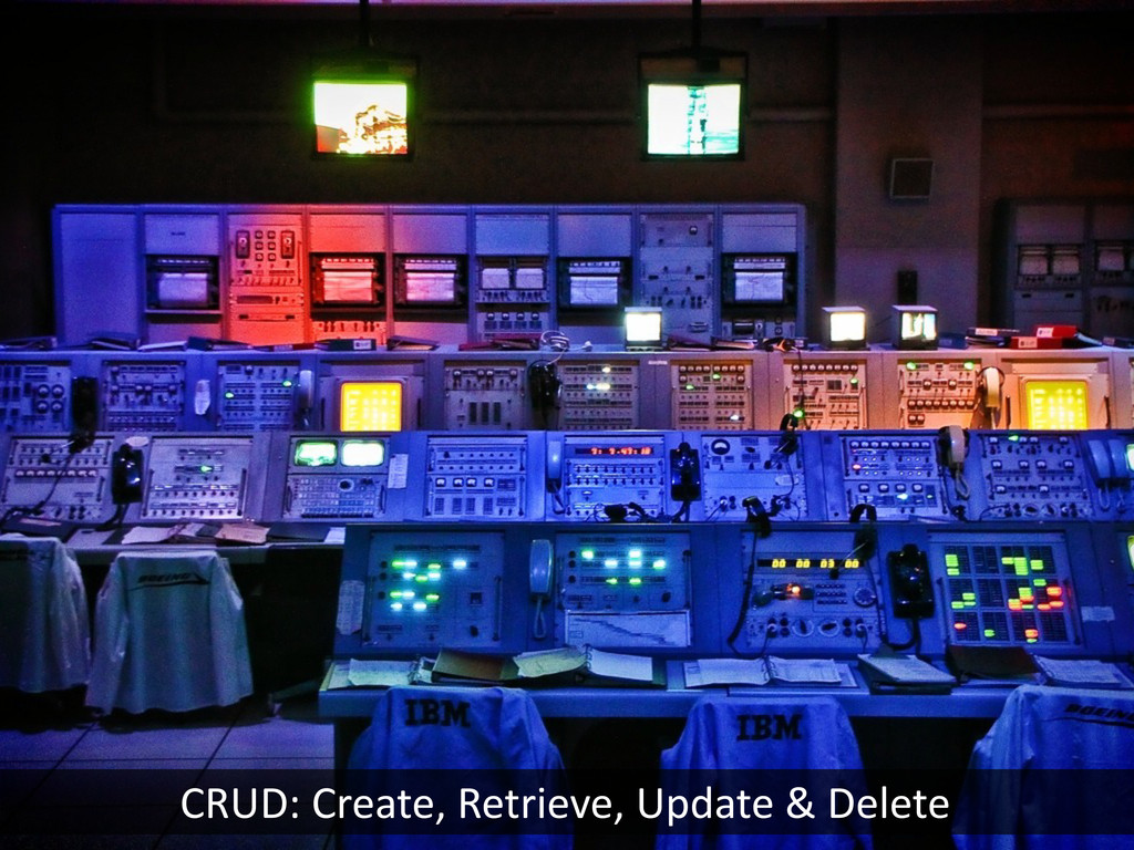CRUD:	
