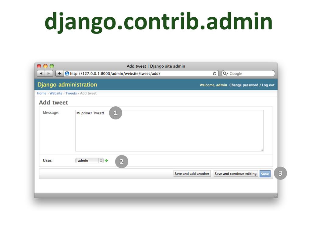 django.contrib.admin 1 2 3