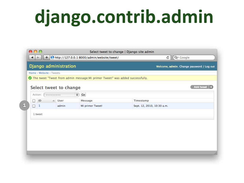 django.contrib.admin 1