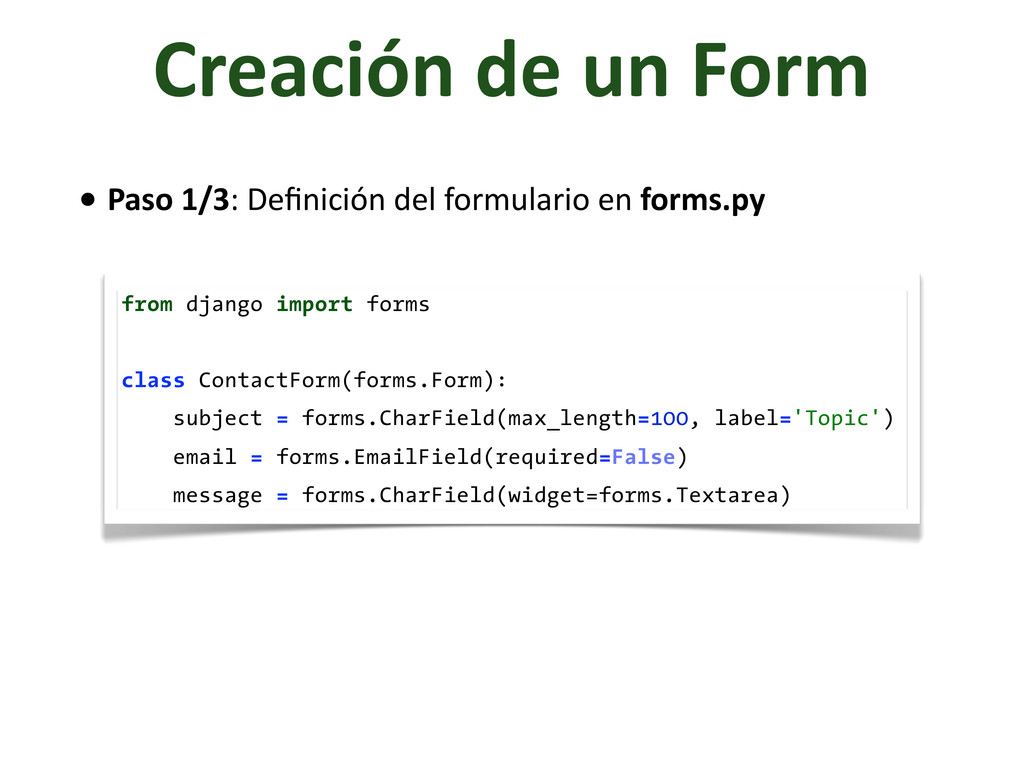 Creación	