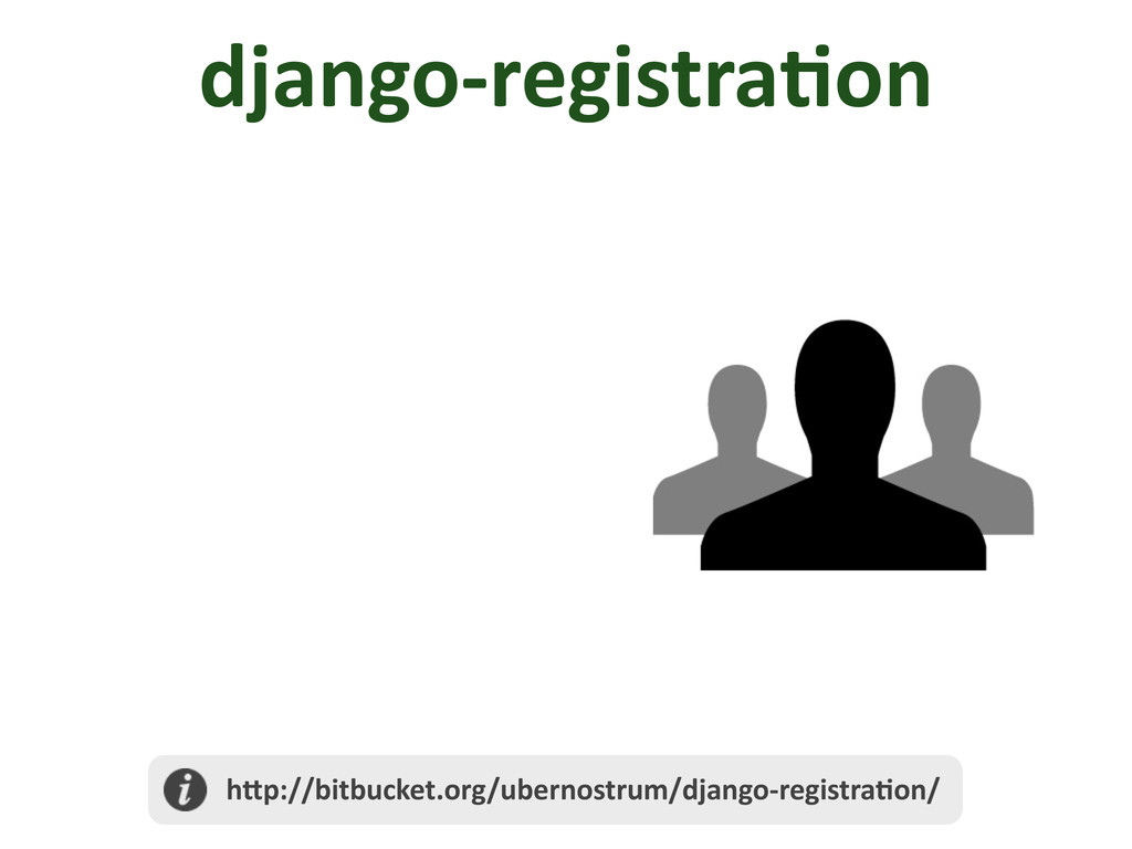 django-­‐registra/on 	