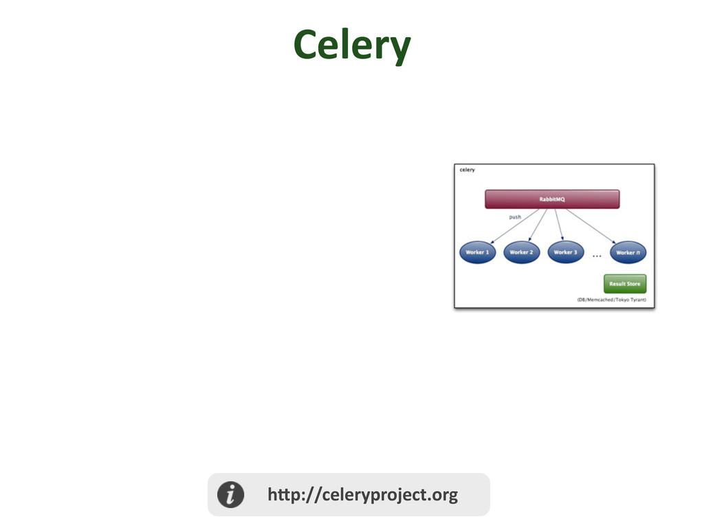 Celery  h@p://celeryproject.org
