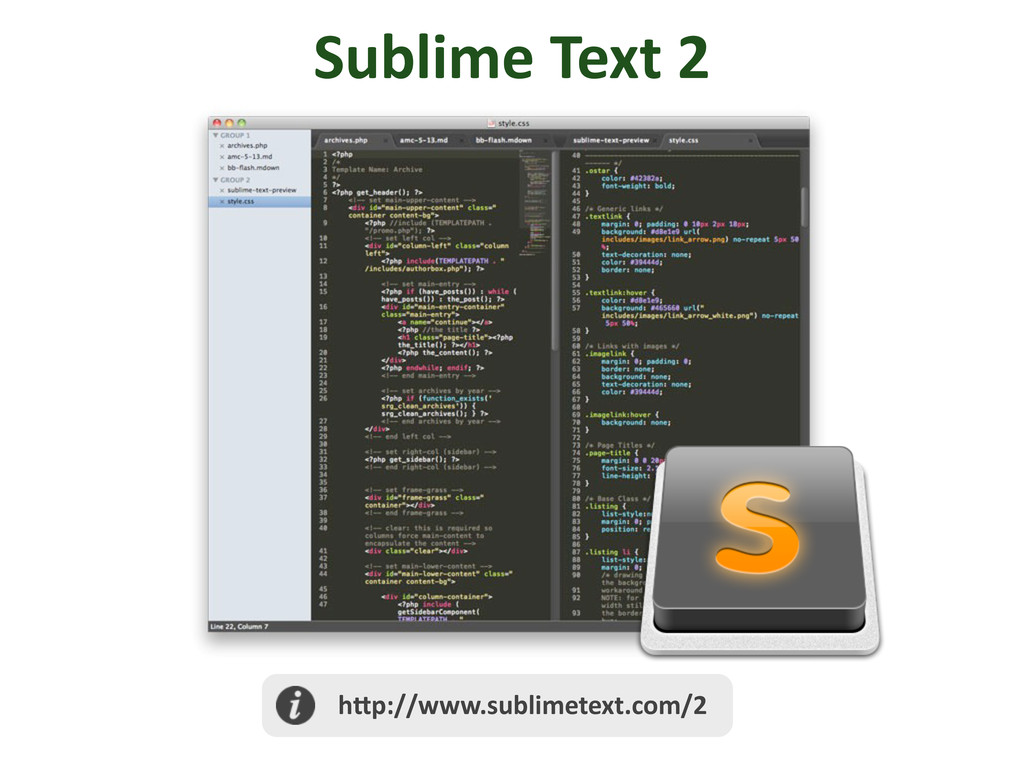 Sublime	