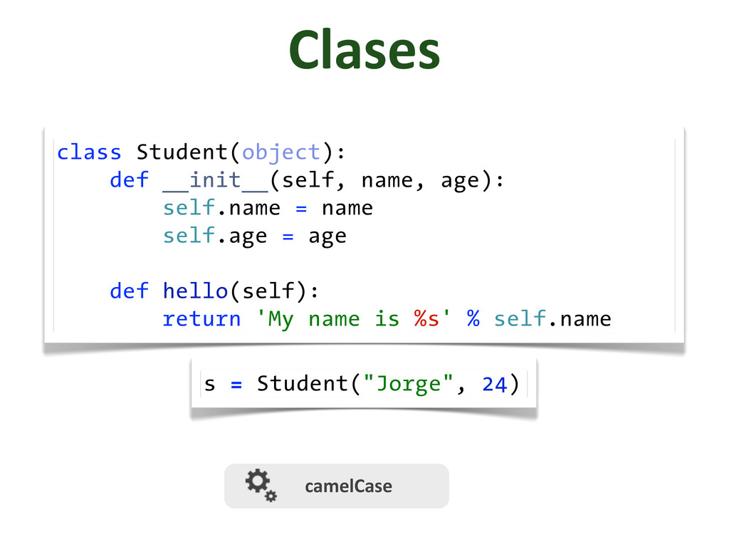 class Student(object): def __init__(self, name,...