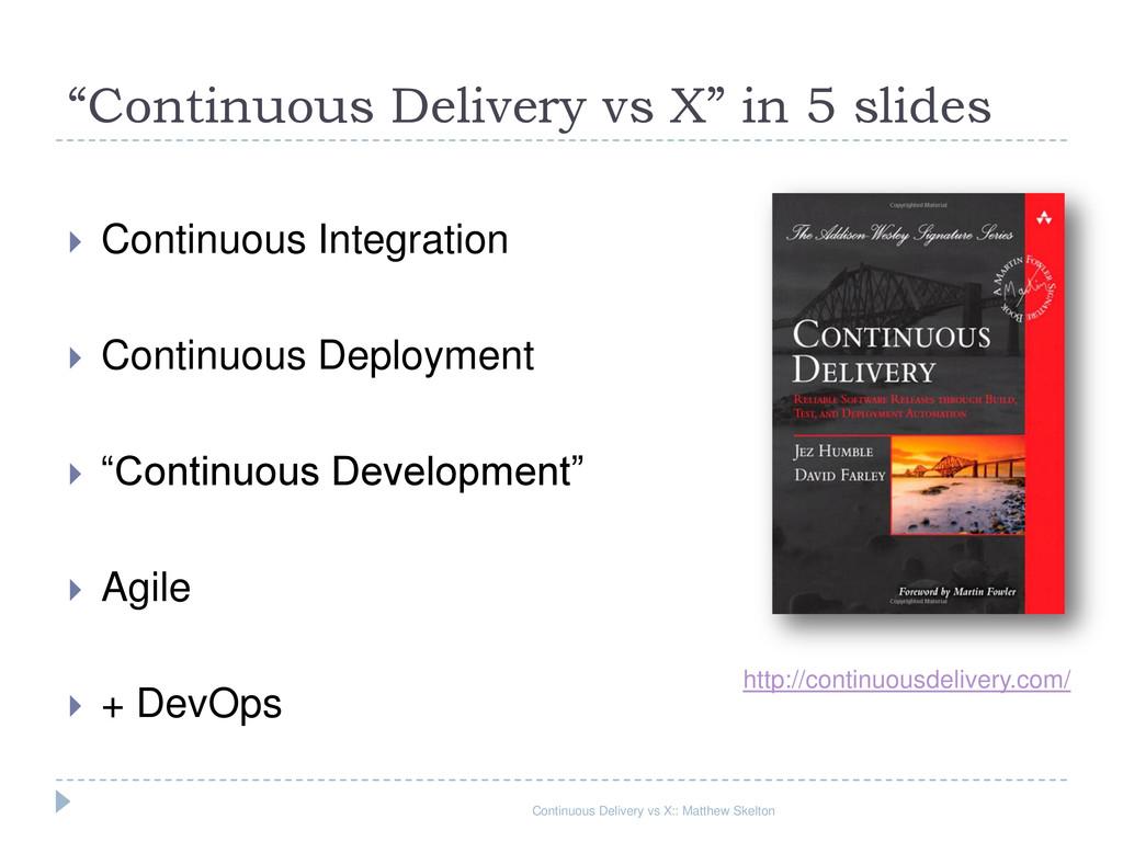  Continuous Integration  Continuous Deploymen...
