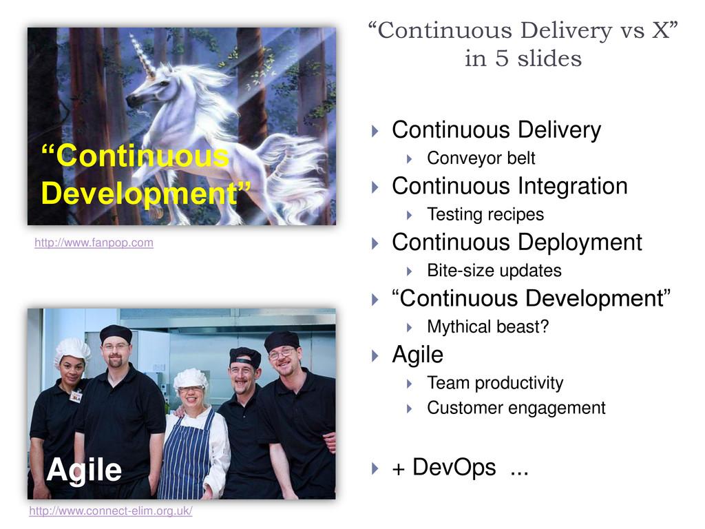 """""""Continuous Development"""" Agile """"Continuous Deli..."""
