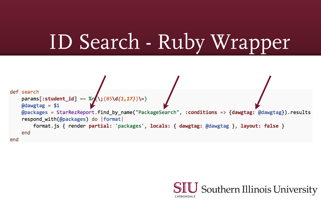 ID Search - Ruby Wrapper