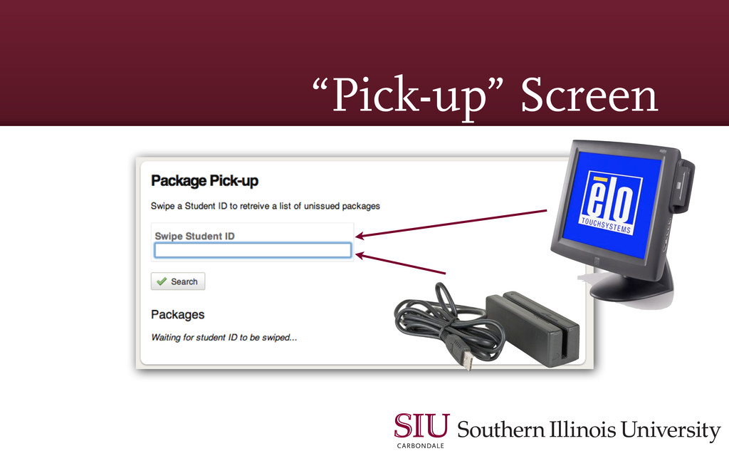 """Pick-up"" Screen"