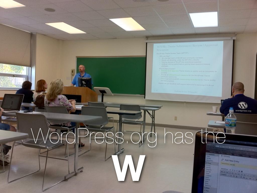 WordPress.org has the W