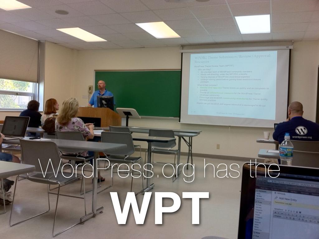 WordPress.org has the WPT
