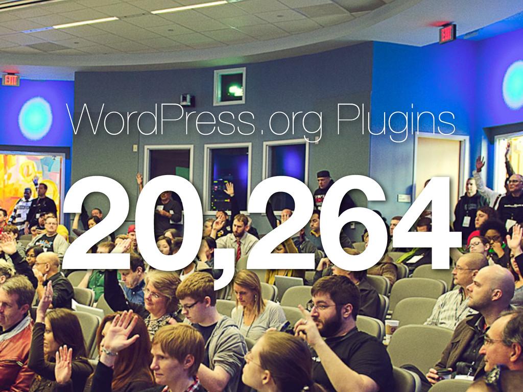 WordPress.org Plugins 20,264