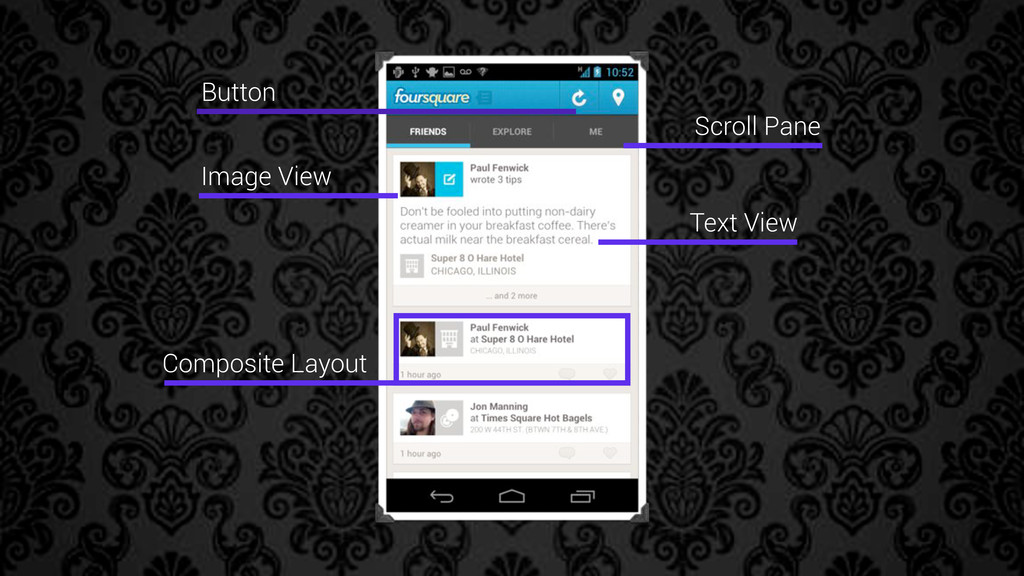 Image View Text View Scroll Pane Button Composi...