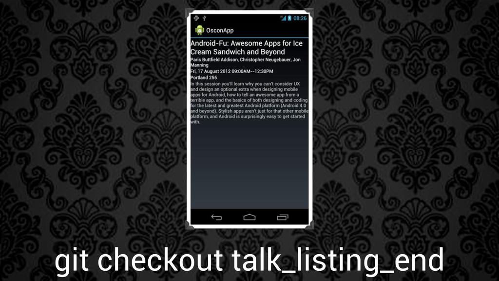 git checkout talk_listing_end