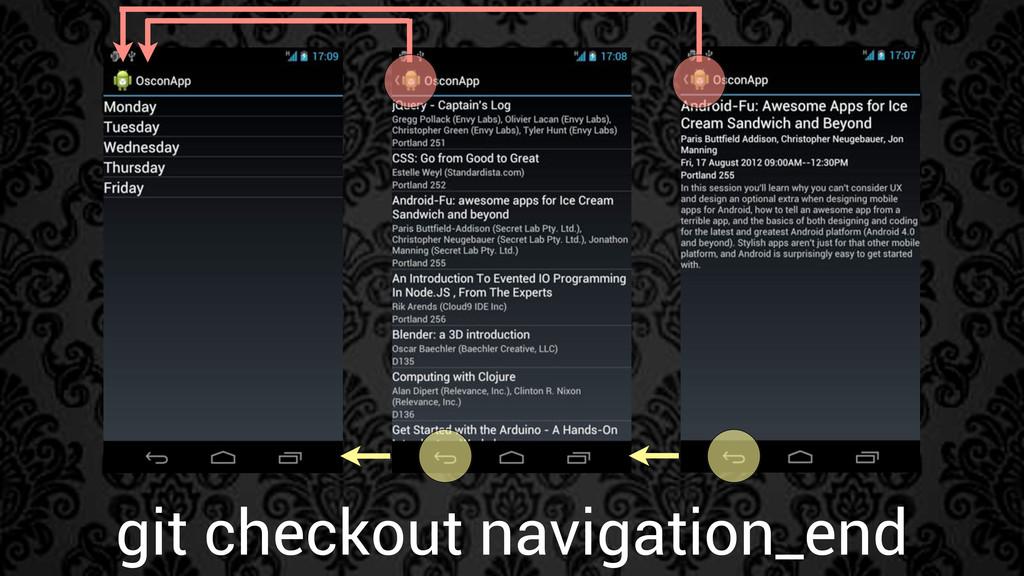 git checkout navigation_end