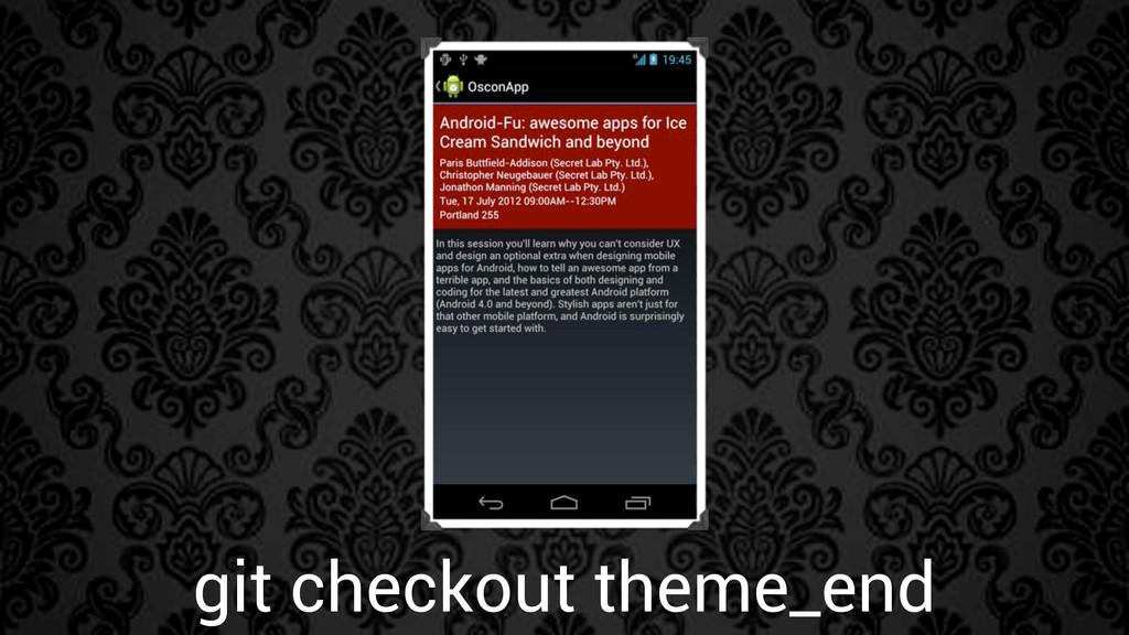 git checkout theme_end