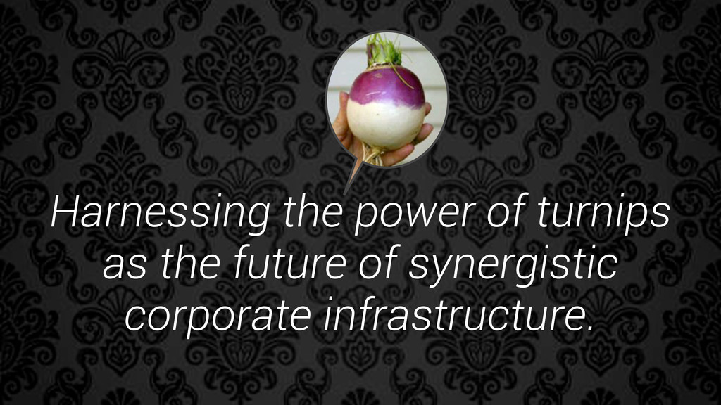 Harnessing the power of turnips as the future o...