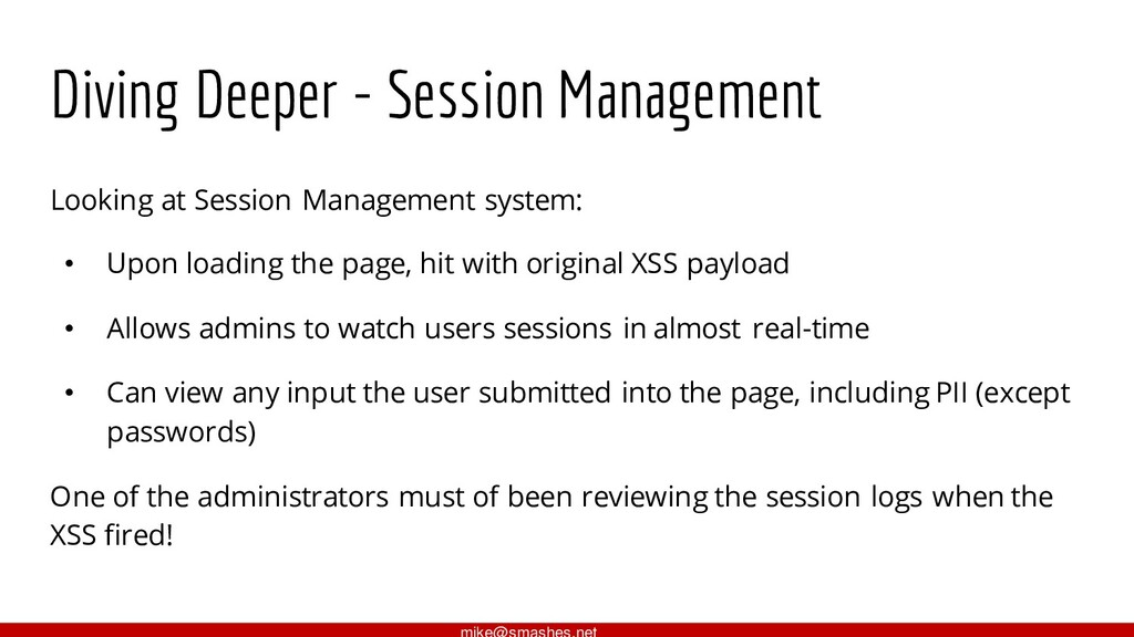 Diving Deeper - Session Management Looking at S...