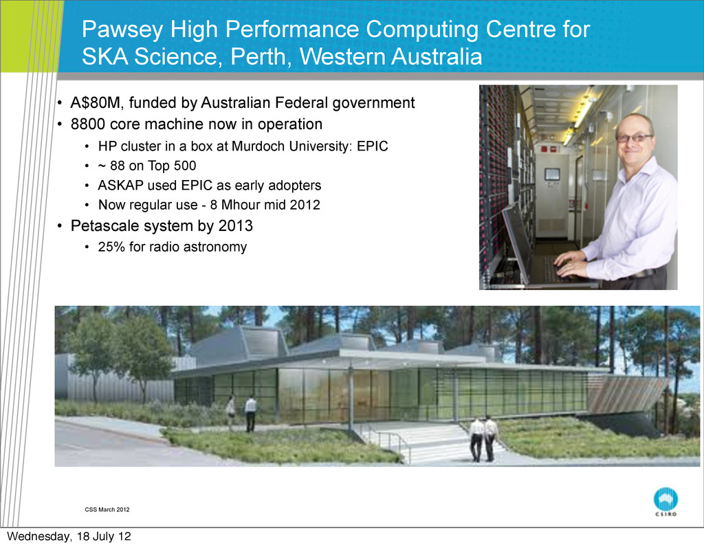 CSS March 2012 Pawsey High Performance Computin...