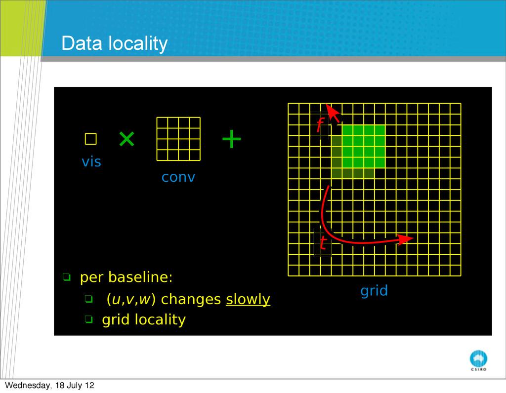 Data locality July 25-29, 2011 July 25-29, 2011...