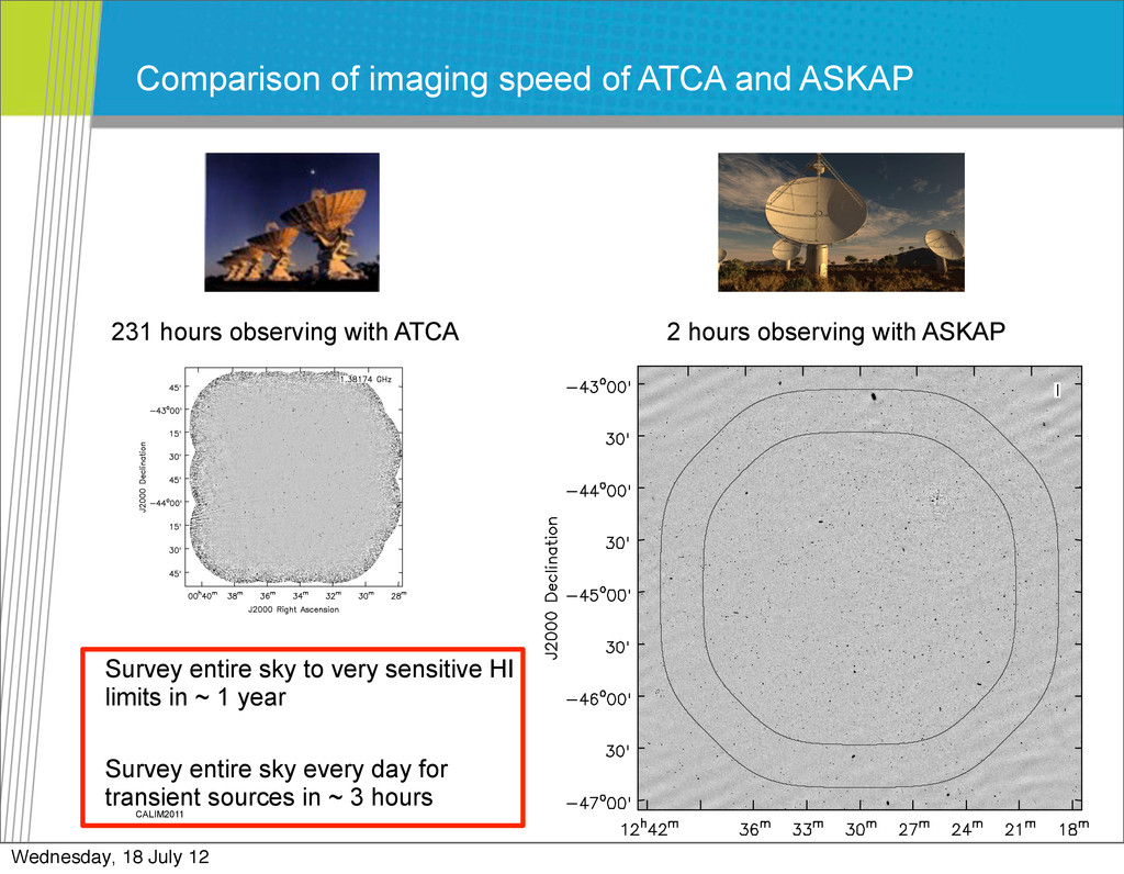 CALIM2011 Comparison of imaging speed of ATCA a...