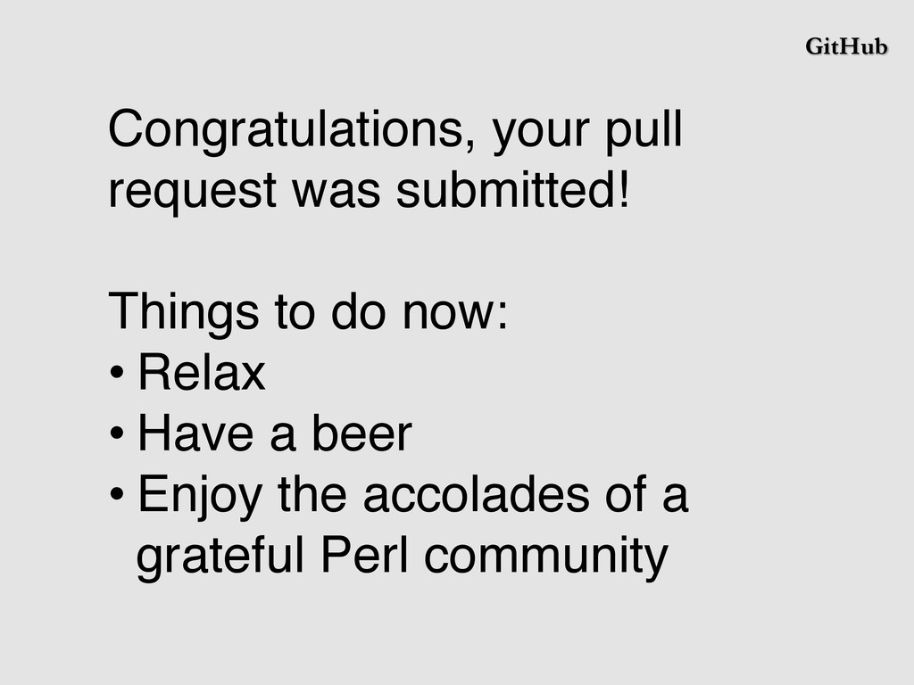 GitHub Congratulations, your pull request was s...