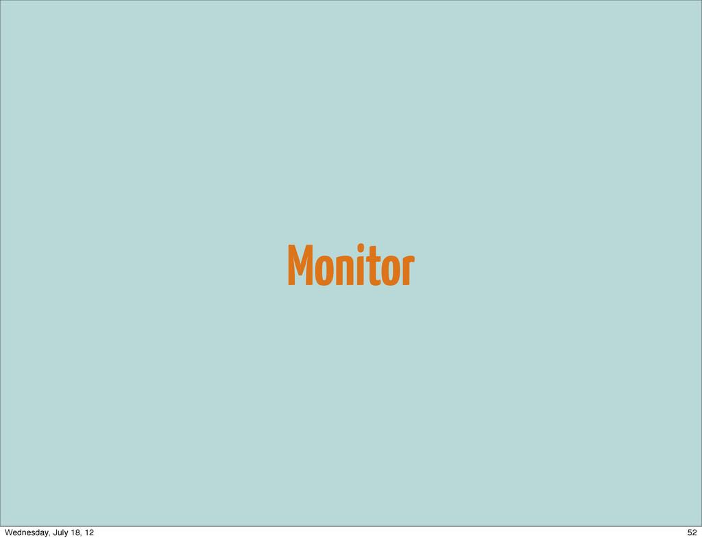 Monitor 52 Wednesday, July 18, 12