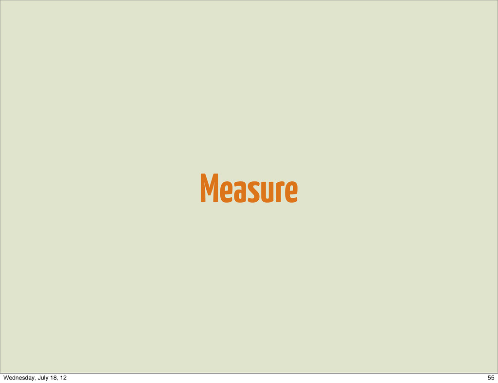 Measure 55 Wednesday, July 18, 12