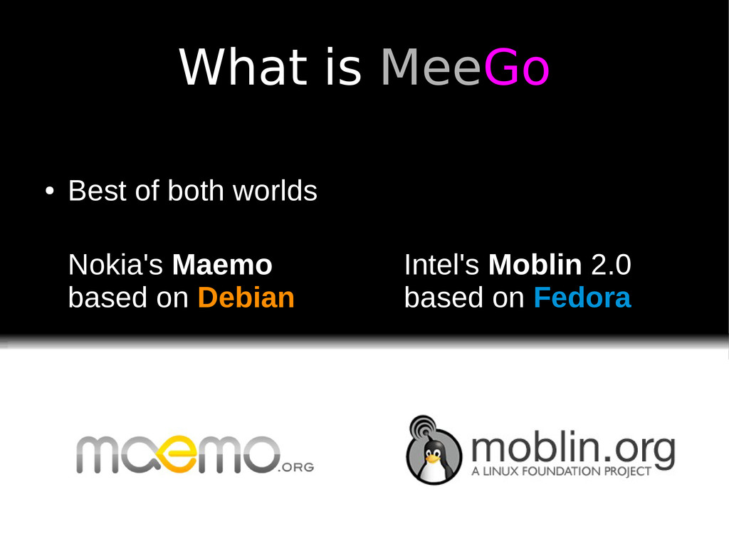 What is MeeGo Nokia's Maemo based on Debian Int...