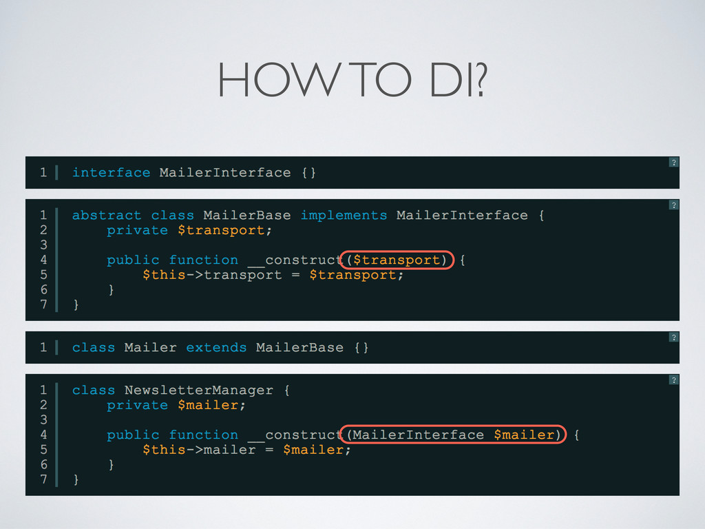 HOW TO DI?